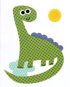 Dinosaur Nursery Artwork Print // Baby Room Decoration // Kids Room Decoration // Gifts Under 20 dino art work wall art kids dino theme on Etsy, $14.00