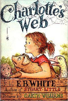 My all-time favorite!  Scholastic's Parent & Child magazine recently named the delightful Charlotte's Web #1 on their list of 100 Great Books for Kids.