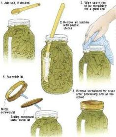 Home Canning - Jars and Lids