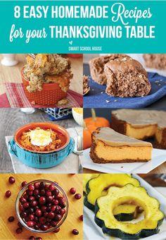 Thanksgiving Recipe Ideas
