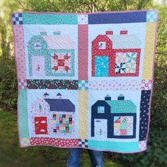 lovely little handmades: quilty barn wall quilt!