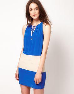 Color-Block Dress