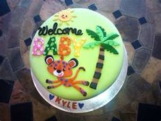 Image Detail for - Fisher Price Animal Safari themed baby shower cake by JReynolds on ...