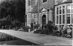 The South side of Goldsborough Hall in the time of Princess Mary in the 1920s.