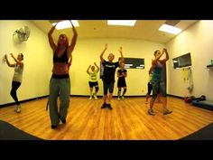 Looks pretty easy, can do a home when zumba stops. Scream - Usher Zumba with Mallory HotMess