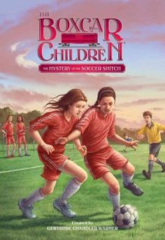 J SERIES BOXCAR CHILDREN. A talented young soccer player in Greenfield is given the honor of being a child mascot at an international soccer tournament in Brazil, but when an anonymous letter insists that she doesn't deserve to go, the Aldens investigate.