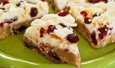 Cranberry Bliss Bars-Starbuck's Copycat-these are seriously one of my all time favorite treats! They're great for the holidays but I'll be making them year! This is the best version of the original I've found!!!