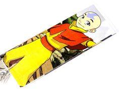 Aang Bookmark inspired by Avatar : The Last Airbender OOAK ( Katara