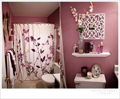 Bathroom on pinterest plum bathroom cork flooring and for Plum bathroom ideas