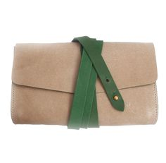 Wrapped Envelope Clutch