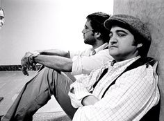 Chevy Chase and James Belushi