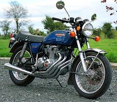1977 Honda CB 400 F #motorcycle
