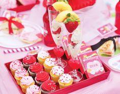 Cute Valentine Spa & Sleepover Party