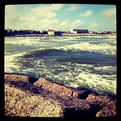 Favorite Place of all time... Galveston, TX. It may not be the most beautiful exotic beach but it sure is full of memories for me. I am in love with the surf, sand and sunshine.
