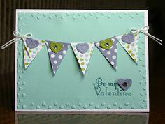 Stampin' Up!  Delightful Dozen #122652  Krystal De Leeuw  Valentine's Day