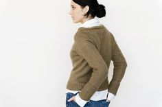 Garance Pullover: Love the wide rolled boatneck. Looks better than a J. Crew sweater!