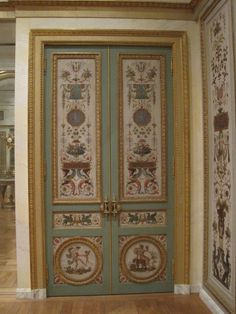 The highlight of the Neoclassical collections is a paneled room designed by the famous Parisian architect Claude-Nicholas Ledoux. Designed for the house of a wealthy plantation owner from Santo Domingo as a Parisian base, the paneling entered American hands after demolition of the Ledoux designed complex in the late 19th century