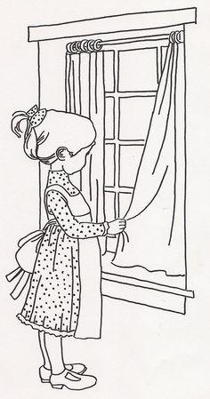 Girl Closing Curtains by jeninemd, via Flickr