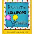 These fun response lollipops will put a sweet twist on your review activities in class. I use them primarily for quick assessments with students on...