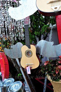 DIY...GLiTTer wings attached to guitar! rock 'n roll cornbread soul!