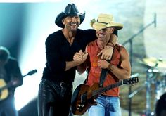 Tim McGraw and Kenny Chesney.. Best concert ever!!