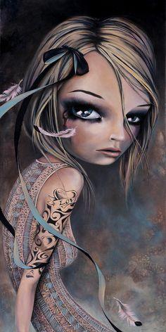 girl in art