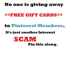 It's just a scam folks... (Starbucks, H&M Etc.)