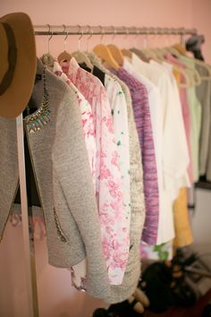 A step-by-step guide to organizing your closet
