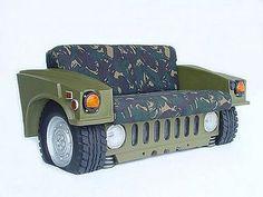 Hummer sofa!