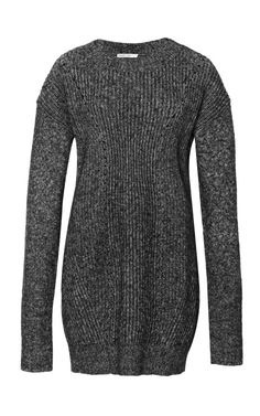 Shop Long Cotton-Blend Ribbed Sweater by 10 Crosby Derek Lam - Moda Operandi