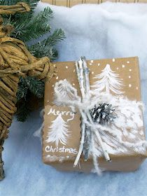 Ash Tree Cottage: Christmas in July Crafts