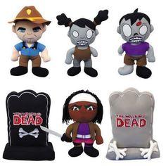 Walking Dead Plush Toys for the Living Dead