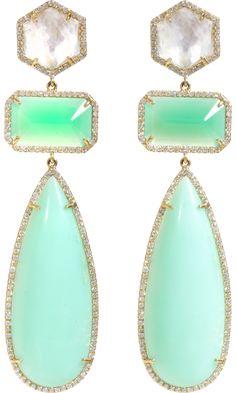 Irene Neuwirth dangle worthy earrings
