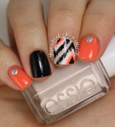 LOVE this look! #nails #nailart #manis