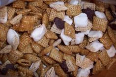 Caramel and Chocolate Chex Mix recipe