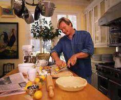 Allen Smith making breakfast in the kitchen