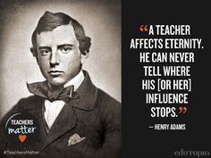 Another reason why teaching is the most important job.