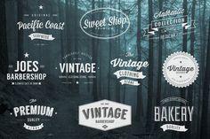 Vintage Logos Vol. 3 by Jack_Piingu on Creative Market