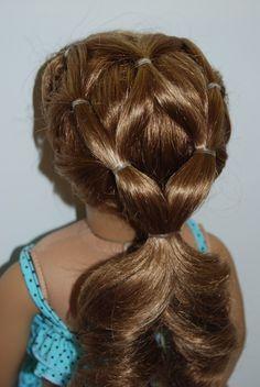 Hair Style Doll : ... hair styles on Pinterest American Girl Dolls, Doll Hair and American