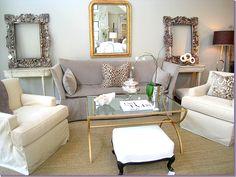 decor, mirror, lights, interior design, living rooms, colors, design inspir, live room, design delight