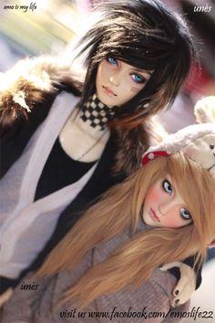 Cute Emo Dolls