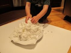 Preschool Science - soap souffle!