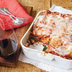 Mushroom and Spinach Lasagna | CookingLight.com