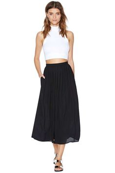Nasty Gal Loosen Up Pant - Black