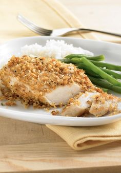 Lemon-Garlic Chicken is a delicious quick dinner recipe you'll love! It has only 5 ingredients and takes 30 mins!
