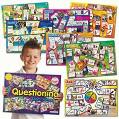 7 Questioning Games to work on social skills!