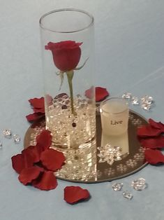 rose and pearl wedding centerpieces   DIY Centrepieces   Weddingbee DIY Projects