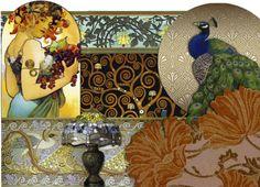 Art Nouveau Interior Design & Home Decor