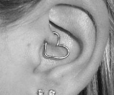 I have this piercing and I want the heart!