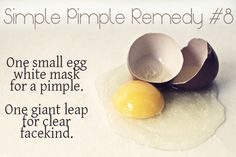 9 Pretty simple pimple remedies. With stuff you already have in your kitchen! :)